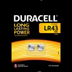 LR43 Duracell - confezione...