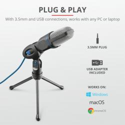 20378 - Microfono USB Trust...