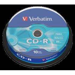 10 CD-R Verbatim Scatola...